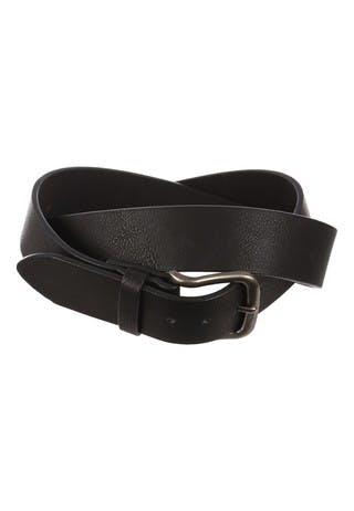 Mens Black Casual Belt