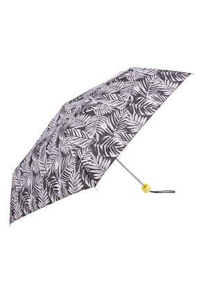 Monochrome Leaf Supermini Umbrella