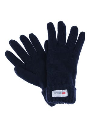 Womens Navy Thinsulate Gloves