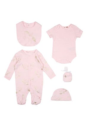 Baby Girls Unicorn 5 Piece Gift Set