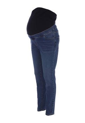Maternity Indigo Blue Over The Bump Skinny Jeans