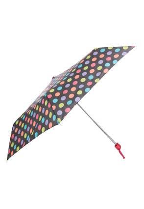 Womens Multicolour Spot Mini Umbrella