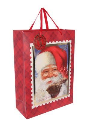 Extra Large Santa Christmas Gift Bag