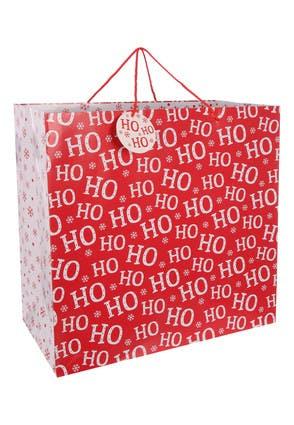 Giant Ho Ho Ho Christmas Gift Bag