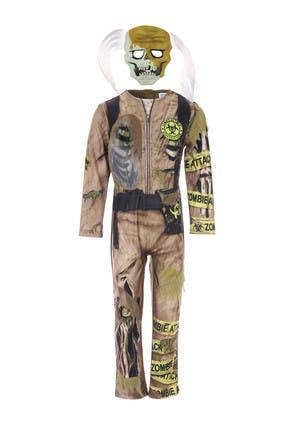 Kids Halloween Zombie Costume