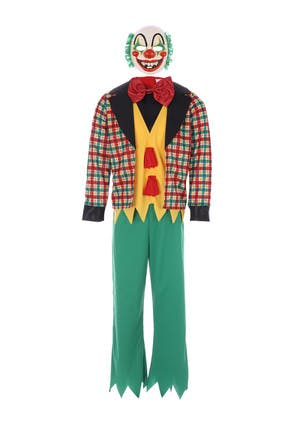 Kids Halloween Clown Costume