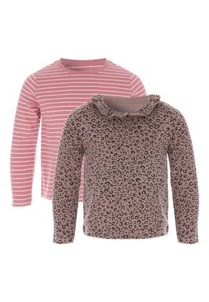 Youngers Girls 2pk Long Sleeve Tops