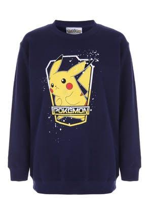 Older Boys Navy Pokemon Sweatshirt