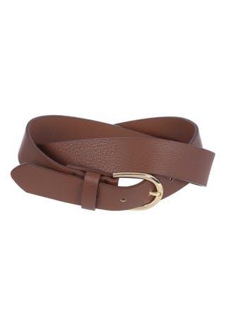 Womens Brown Belt